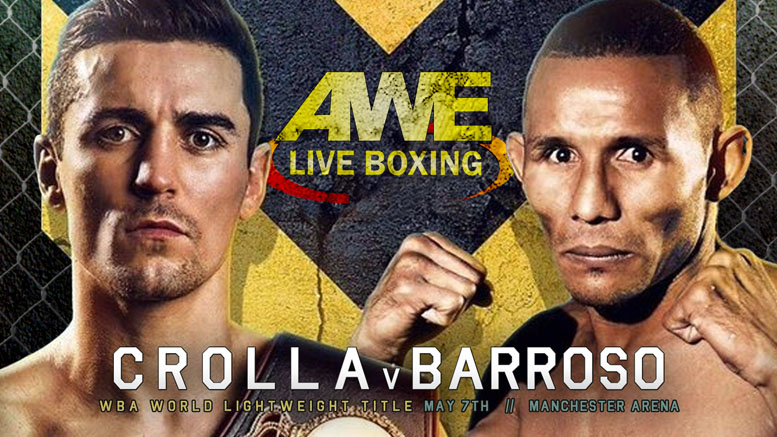 Kubrat Pulev - Dereck Chisora European title clash added to Crolla - Barroso Lightweight title telecast this Saturday on AWE