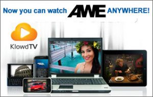 Now you can watch AWE anywhere on KlowdTV!